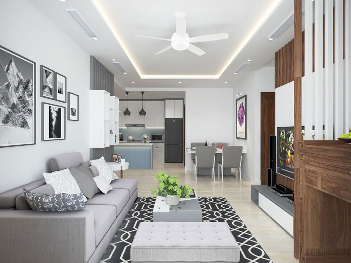 Nội thất cơ bản ở các chung cư, căn hộ hiện nay