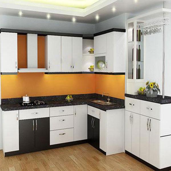 Nội thất phòng bếp nhỏ ở các căn hộ, chung cư