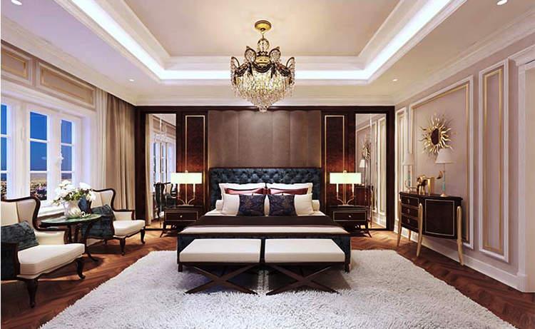 Phong cách Luxury sang trọng